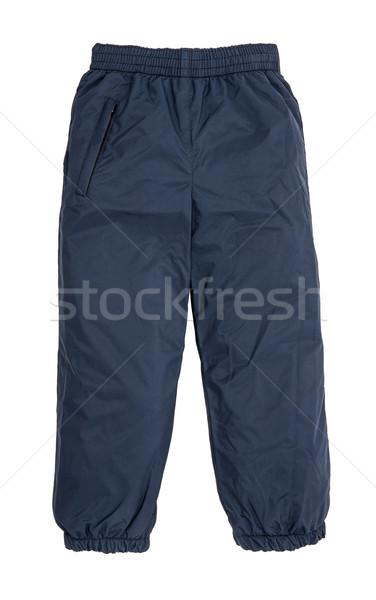 Caliente pantalones aislado blanco moda nino Foto stock © cookelma