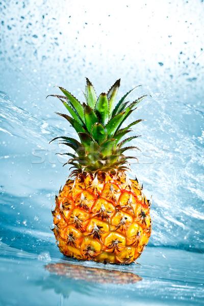 Fresh pineapple Stock photo © cookelma