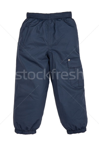 Warm pants geïsoleerd witte mode kind Stockfoto © cookelma