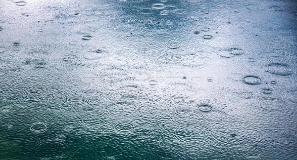 Resumen lluvia gotas agua carretera fondo Foto stock © cookelma