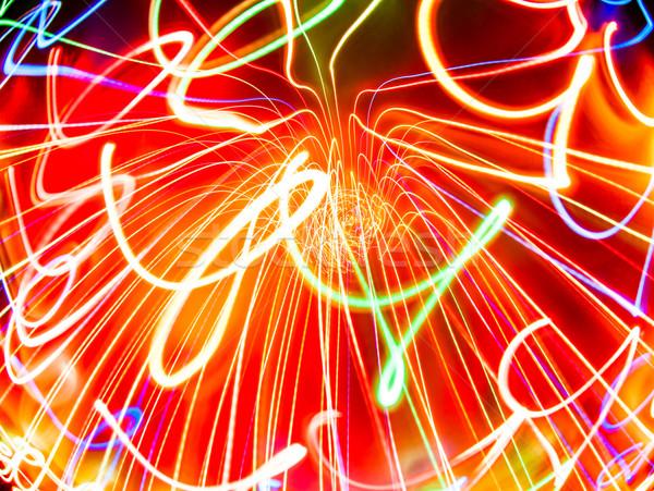 serpentine light Stock photo © cookelma