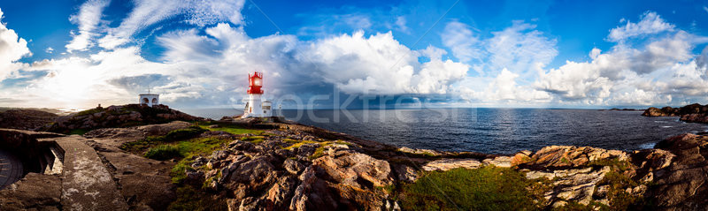 Lindesnes Fyr Lighthouse, Norway Stock photo © cookelma