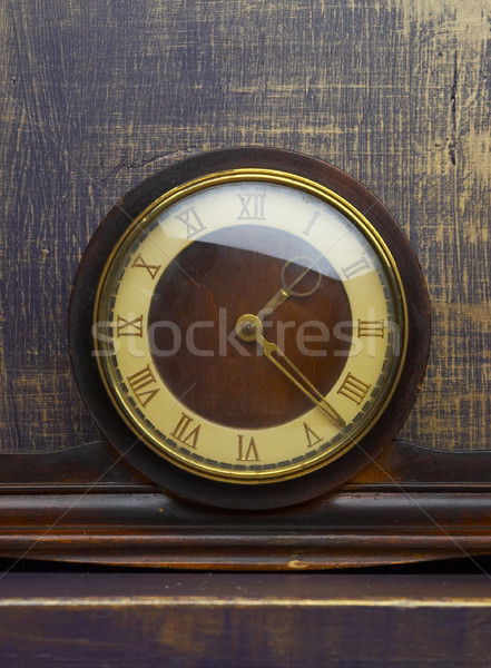 Ancient hours with a white dial.  Stock photo © cookelma
