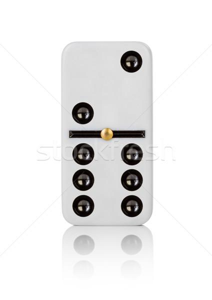 Een tegel achtergrond witte patroon spel Stockfoto © cookelma