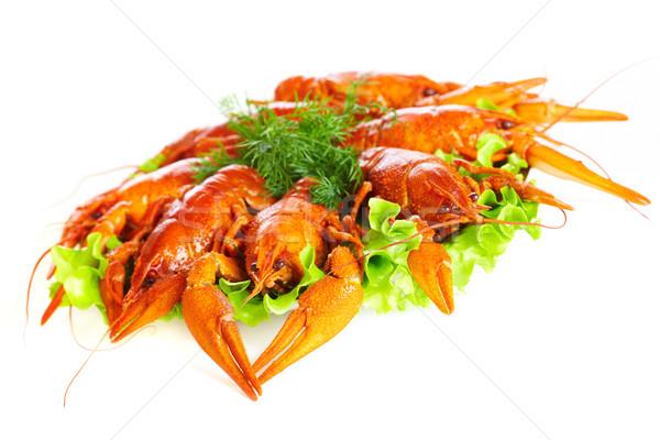 Boiled crawfish  Stock photo © cookelma