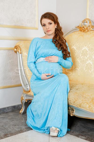 Pregnant woman Stock photo © cookelma