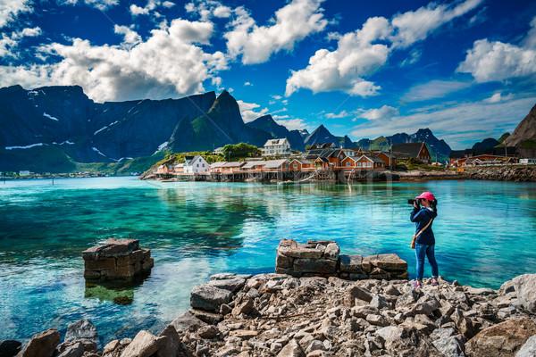 Сток-фото: природы · фотограф · туристических · камеры · архипелаг