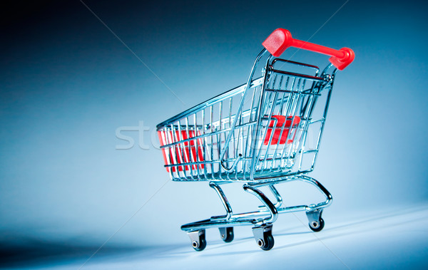 shopping cart Stock photo © cookelma
