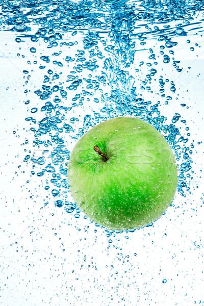Verde maçã água fresco branco saúde Foto stock © cookelma