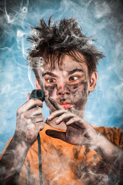 Electric Shock Stock photo © cookelma