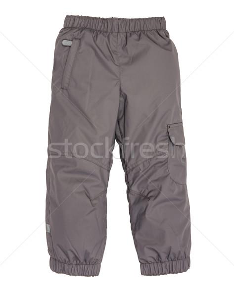 Warm pants geïsoleerd witte kind pak Stockfoto © cookelma