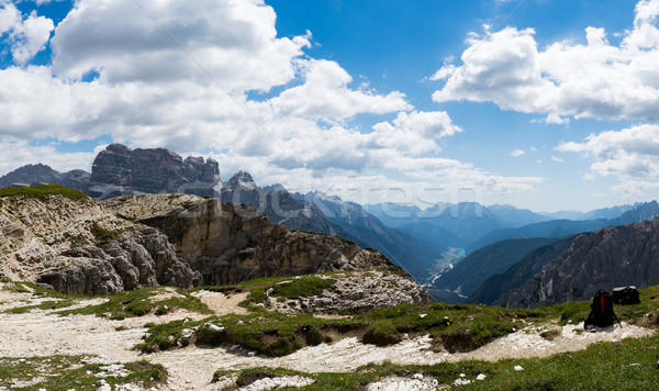Natureza parque alpes belo Itália céu Foto stock © cookelma