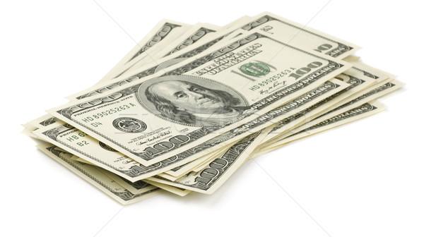 お金 スタック 1 100 ドル ストックフォト © coprid