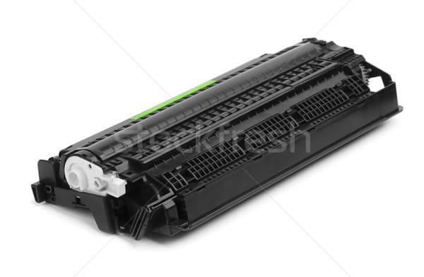 Patron fekete izolált fehér üzlet számítógépek Stock fotó © coprid