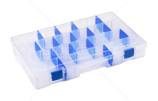 Plastic organiser Stock photo © coprid