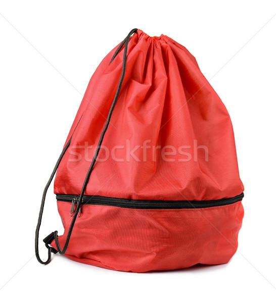 袋 赤 靴 孤立した 白 色 ストックフォト © coprid