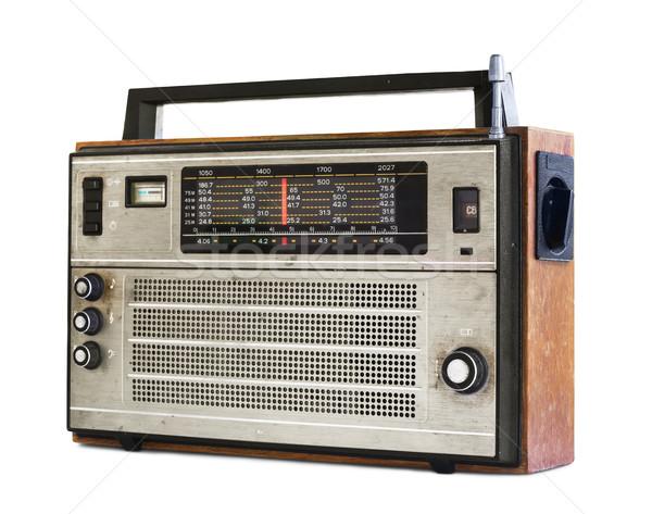 Old radio  Stock photo © coprid
