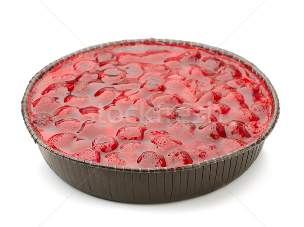 Stock photo: Raspberry pie