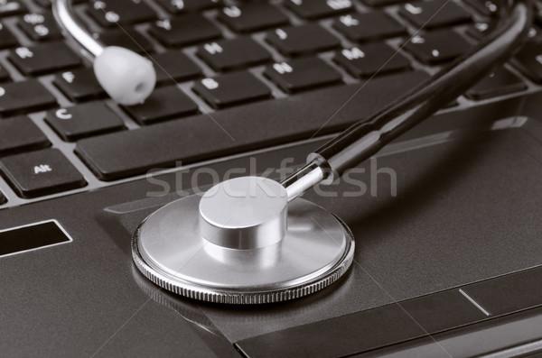 Computer diagnostics Stock photo © coprid