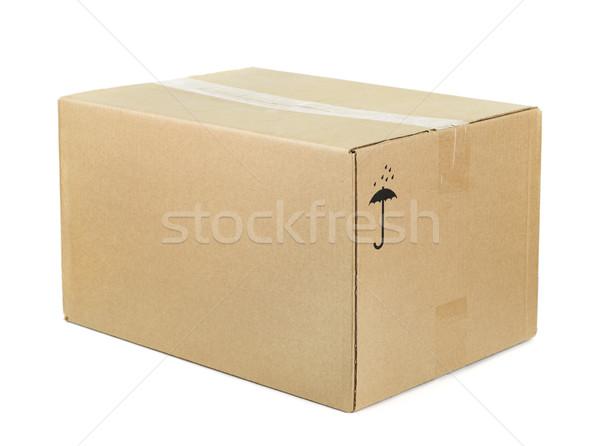 Cardboard box  Stock photo © coprid