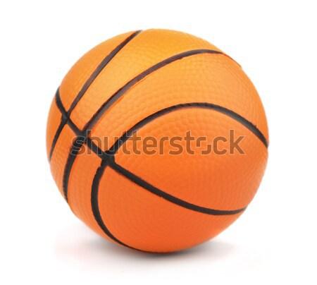 バスケットボール 小 おもちゃ ボール 孤立した 白 ストックフォト © coprid