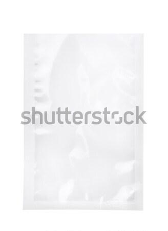 プラスチック ジッパー 袋 孤立した 白 ビジネス ストックフォト © coprid