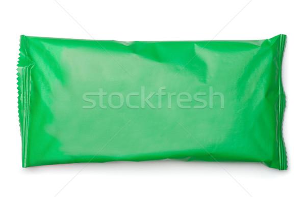 パッケージ 袋 緑 食品 孤立した 白 ストックフォト © coprid