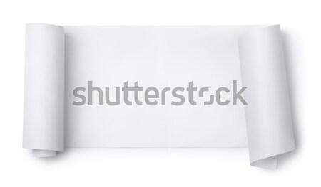 Paper scroll Stock photo © coprid