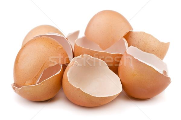 Egg shells Stock photo © coprid
