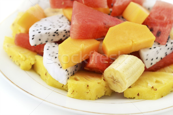 Fresh Cut Fruit Stock photo © coprid