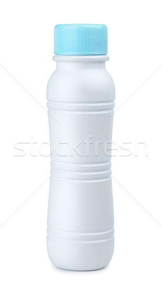 プラスチック ボトル 乳製品 孤立した 白 赤ちゃん ストックフォト © coprid