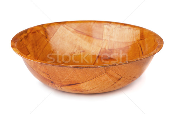 Wooden bowl Stock photo © coprid