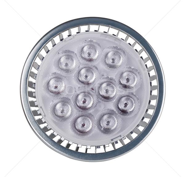 Stockfoto: Licht · gloeilamp · geïsoleerd · witte