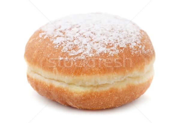 пончик сахарной пудры изолированный белый фон торт Сток-фото © coprid
