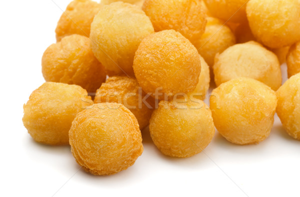 Fried potato balls Stock photo © coprid