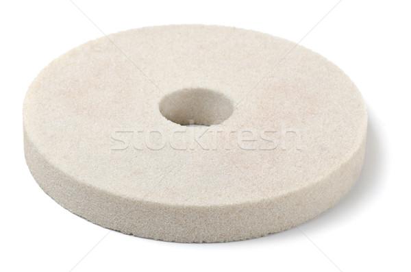 ホイール 白 孤立した にログイン 砂 業界 ストックフォト © coprid