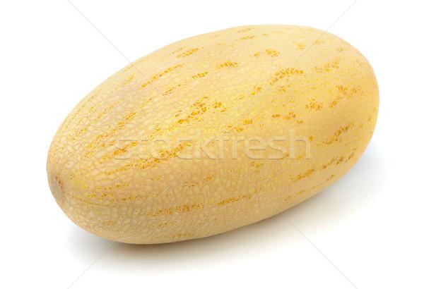 Melone tutto isolato bianco alimentare vegetali Foto d'archivio © coprid