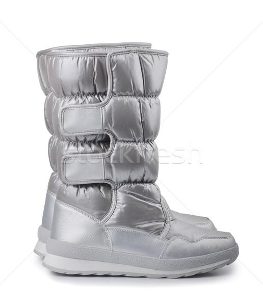 Snow boots Stock photo © coprid