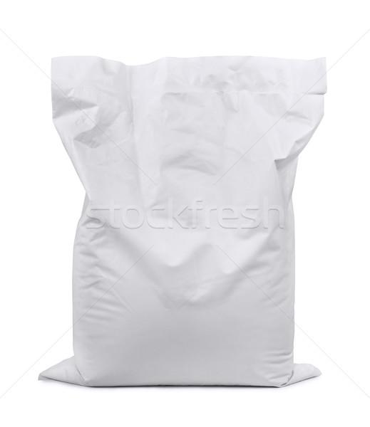 пластиковых мешок белый изолированный магазине химии Сток-фото © coprid