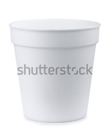 Plastic pot Stock photo © coprid