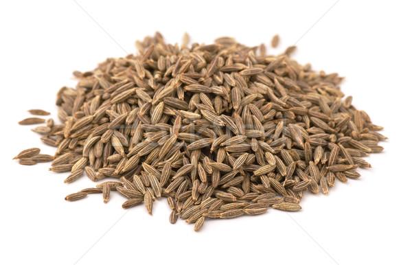 Kimyon tohumları bütün yalıtılmış beyaz Stok fotoğraf © coprid