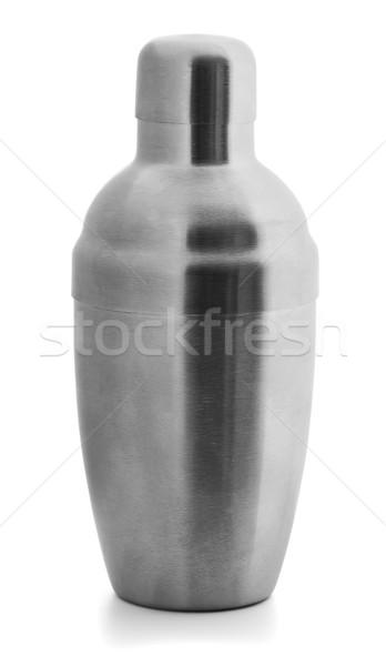 カクテル シェーカー 孤立した 白 パーティ 作業 ストックフォト © coprid