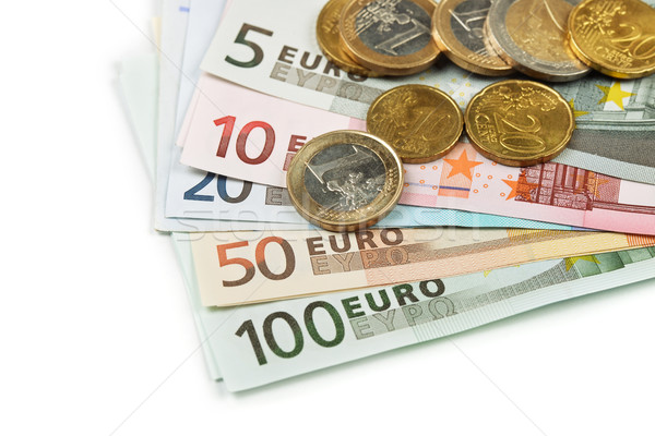 Euro currency Stock photo © coprid
