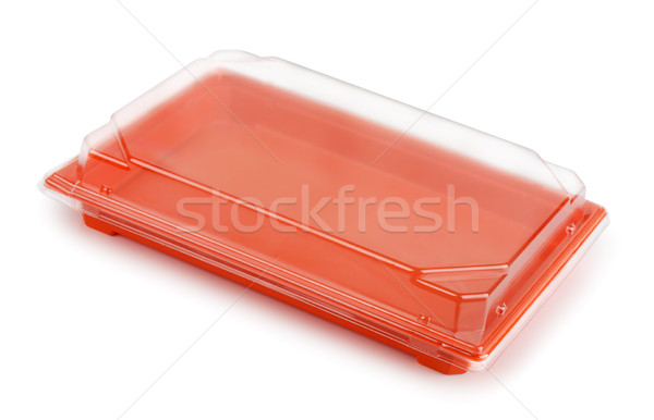 Plastic food package Stock photo © coprid