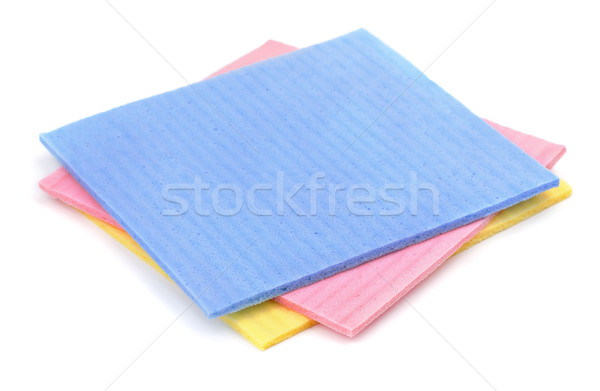 Sponge cloth Stock photo © coprid