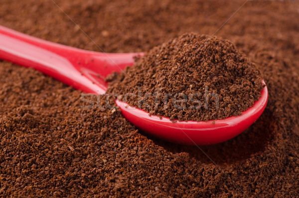 ground coffee stock photo -#main