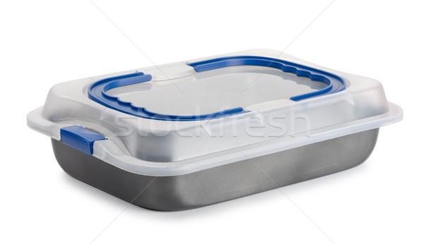 パン プラスチック 孤立した 白 キッチン ストックフォト © coprid