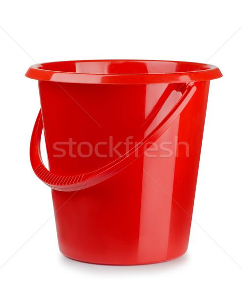 Plastic bucket Stock photo © coprid