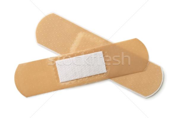 接着剤 包帯 2 ピース 孤立した 白 ストックフォト © coprid