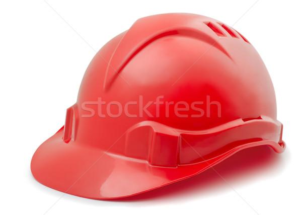 красный пластиковых изолированный белый бизнеса Сток-фото © coprid